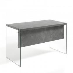 Desk in MDF and glass - Later