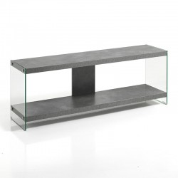 TV Cabinet in MDF and glass - Later