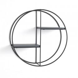 Round Wall Shelves in metal - Zen