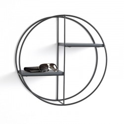 Round Wall Shelves in metal - Zen