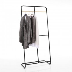 Stand clothes hangers in black steel - Zanzibar