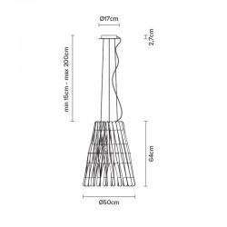 Cone suspension Lamo Stick