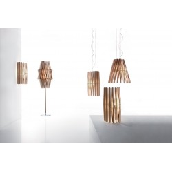 Wooden Table Lamp - Stick