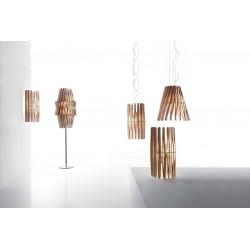 Lampada da parete in legno - Stick