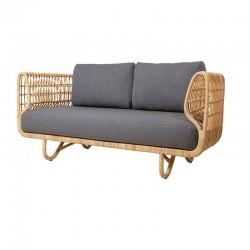 Handmade rattan sofa - Nest