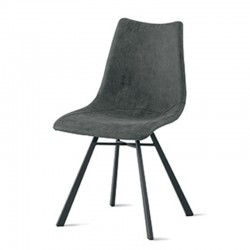 Chair in eco-leather or microfiber -Maiorca