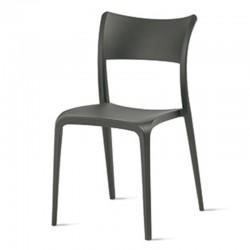 Stackable polypropylene chair -Cordoba