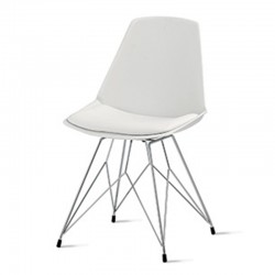 Design chair with metal spider base - Valencia