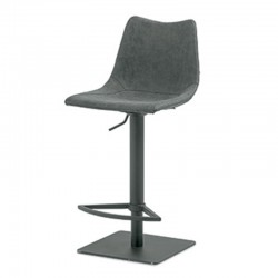 Stool in vintage eco-leather - Maiorca