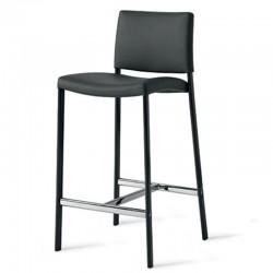 Eco-leather stool - Zara
