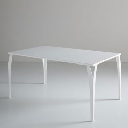 copy of Dining table in black wood - Cementino