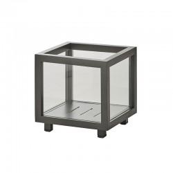 Lantern / squared glass cachepot - Lightbox