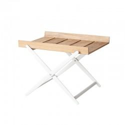 Tavolino Pieghevole da esterno in teak - Rail