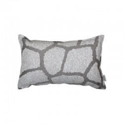 Cuscino Decorativo 52x32 grigio/bordeaux - Play