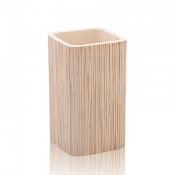 Wood Effect Toothbrush Holder - Jerry