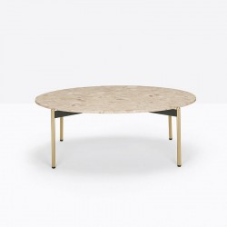 Round Marble Coffee Table - Blume