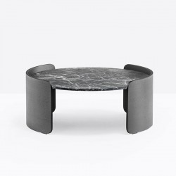 Round Marble Coffee Table - Parenthesis