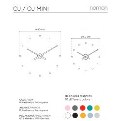 Orologio da Parete di Design Moderno - OJ