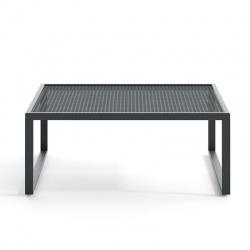 Tavolino Basso da Esterno in Alluminio - Qubik