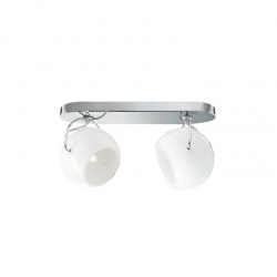 White Wall Spotlights with 2 or 3 Lights - Beluga white