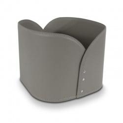 Leather Design Magazine Rack - Diurnus