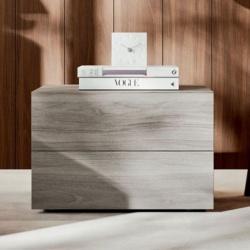 Wooden Bedside Table 2/3 Drawer - Clip