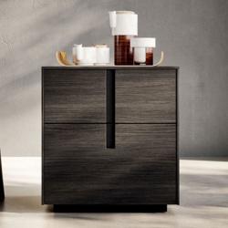 Modern Design Wooden Bedside Table - Ilo