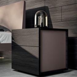 Design Wooden Bedside Table - Margò