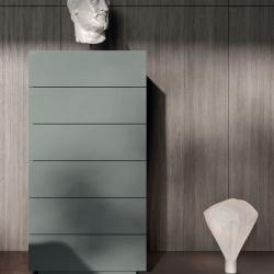 Wooden Design Tall Chest - Margò