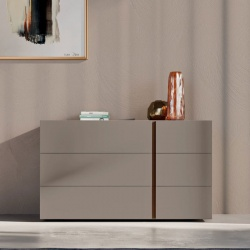 Modern Wooden Dresser with 3 Drawers - Onice