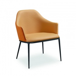 Fabric or Leather Armchair - Lea