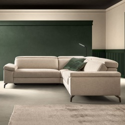 Corner Sofa with Pull Out Seat - Space Action