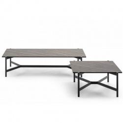 Design Metal Coffee Table - Bridge
