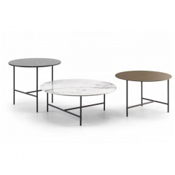 Round Design Coffee Table for Living Room - Level