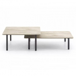 Square or Rectangular Coffee Table - Set