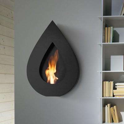 Wall-Hung Bio Fireplaces