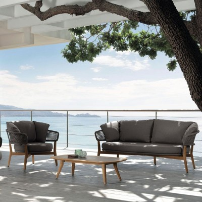 Outdoor Lounge Set | Sofa and Armchairs | ISA Project