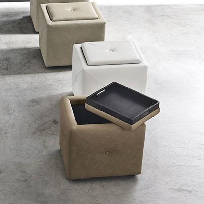 Pouf contenitore | Pouf e panche | Divani e poltrone | ISA Project