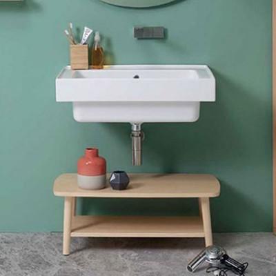 Wall-hung washbasins