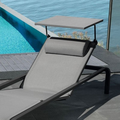 Sunbeds with parasol | Outdoor Furniture | ISA