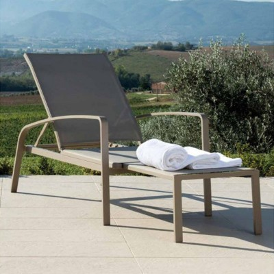 Sunloungers with Armrest